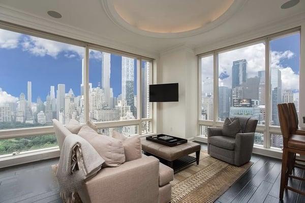 曼哈頓房地產價格為1中央公園西。