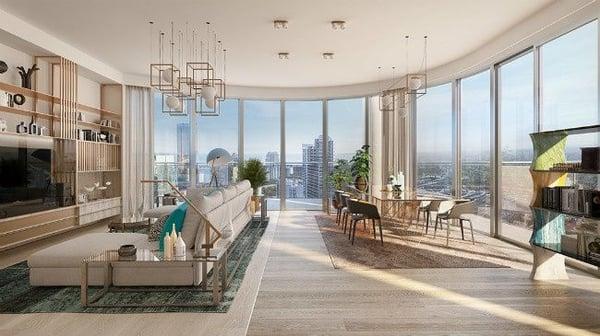 平鐵頂層邁阿密公寓出售布里克爾
