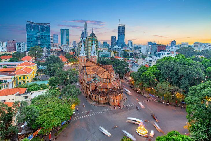 西貢胡志明市